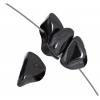 Magnetic Chips 16in Strand Hematite